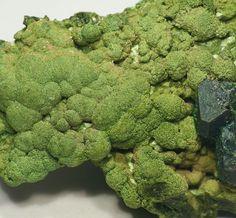 Kolwezite. Musonoi Mine, Kolwesi, Katanga, Congo (Democratic Republic)  Taille=2.9 × 2 × 1 cm Photo e-Rocks