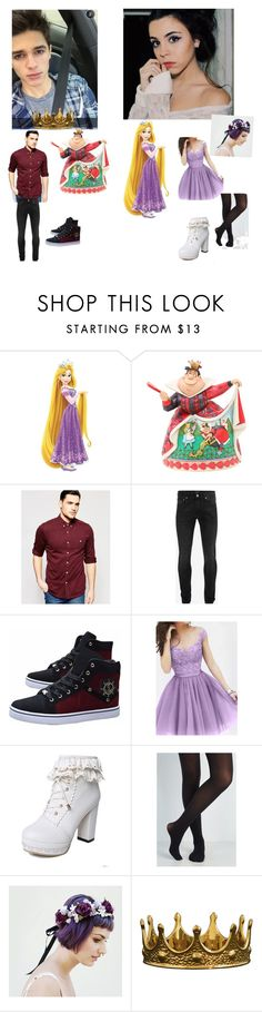 """""""prp"""" by angelsdevildes ❤ liked on Polyvore featuring York Wallcoverings, Disney, ASOS, Alexander McQueen and Seletti"""