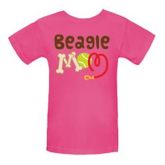 Cute Beagle Mom pet own t-shirt - from our cutepetshirts.com site. $19.99