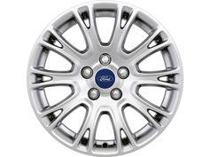 """Ford C-Max - Cerchi in lega 16"""" a 10 x 2 razze, silver"""