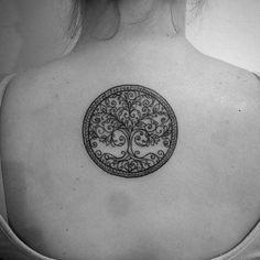 Árbol de la vida, gracias romi! #tattoo #treeoflifetattoo #buenavida @buenavida.tattoo @leonelzab