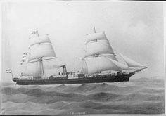 s.s. Mackinnon van de Nederlandsch Indische Stoomvaart Mij.
