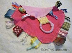 Baby Tag Blanket: simple project
