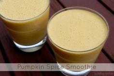 Pumpkin Spice Smoothie | The Pistachio Project