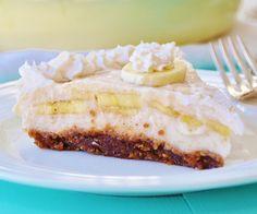 Pastel cremoso de plátano | #Receta de cocina | #Vegana - Vegetariana ecoagricultor.com