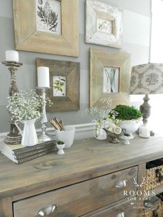Learn how to add subtle spring touches to your home decor | City Farmhouse