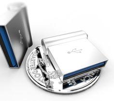 Aluminium Miniature USB | The Gadget Flow