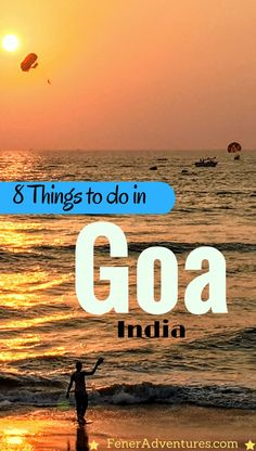 Looking for ways to spend your time in beautiful Goa that doesn't involve partying?   8 creative things to do while you're visiting Goa. www.FenerAdventures.com  india, travel india, goa, backpacking india, backpacking asia, travel tips, visit goa, travel blog, budget travel