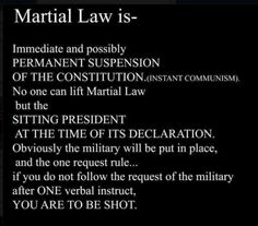 Martial Law Will Not Be Announced, It Will Just Happen (Videos ) | Alternative