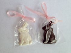 Two Easter Bunnies perfect for American by AGDollSweetsNTreats American Girl Food, American Girl Clothes, Chocolate Easter Bunny, Doll Food, Clay Food, Ag Dolls, Doll Crafts, Bunnies, Toys
