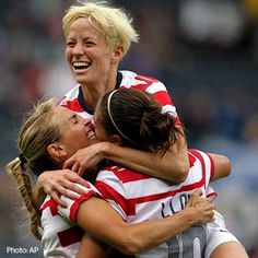 The U.S. women's soccer team set the record for goals at the Olympics