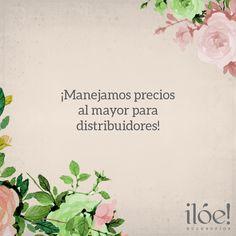 En nuestra página web te contamos cómo convertirte en nuestro distribuidor www.iloeaccesorios.com