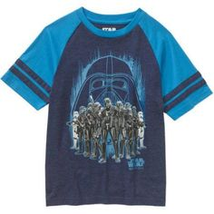 Star Wars Rogue One All In For Darth Boys Graphic Tee, Size: S (6/7), Blue