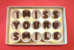 cute idea to send out of town friends