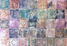 Pataki Tiles: Kékfestőmintás:)