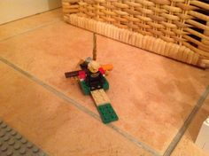 EPIC Lego chariot with built in weapon holder!