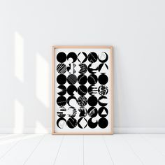 Mid-century Modern Wall art that you can print at home! Available in four different sizes that will be perfect for any frame you have. Download, print and hang in your home today! Home Printers, April 11, Online Print Shop, Modern Wall Art, Geometric Art, Abstract Print, Midcentury Modern, Printable Wall Art, Decorating Your Home