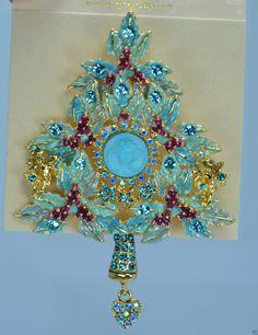 Kirks Folly Heart of the Dream Angel christmas tree pin