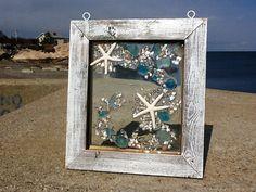 Beach Glass Window Hanger by beachcreation on Etsy
