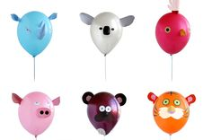 Animal balloons!  Now if could just make an animal theme party sound fun.