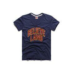 Women's Believeland Cleveland Basketball Ladies T-Shirt – HOMAGE