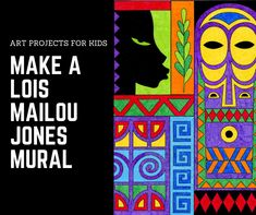 Black History Artist: Lois Mailou Jones · Art Projects for Kids History Projects, Art History, History Quotes, Design History, History Facts, African Art Projects, African Art For Kids, Black History Month Activities, African American Artist