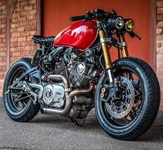 "12.6k Likes, 48 Comments - CAFE RACER  caferacergram (@caferacergram) on Instagram: ""@caferacergram  by CAFE RACER #caferacergram # Virago XV750 by @petersdogcycles #petersdogcycles…"""