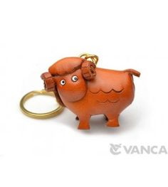 Sheep Leather Keychain(L)