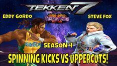 SPINNING KICKS VS UPPERCUTS! (Tekken 7 Season 4)- Eddy Gordo VS Steve Fo... Eddy Gordo, Tekken 7, Season 4, Spinning, Kicks, Gaming, Comic Books, Comics, Cover