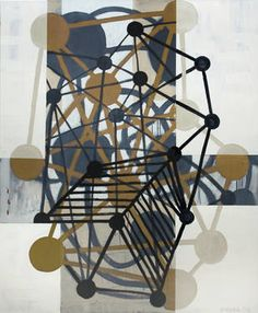 "Saatchi Art Artist Chris Engel; Painting, ""Tinker Toy Days"" #art"
