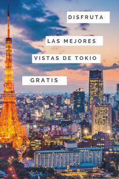 #visita los mejores miradores #gratuitos de #tokio. Desktop Screenshot, Tours, Instagram, Travel, The Maldives, Asia Travel, Japan Travel, Tokyo Tower, Backpacking
