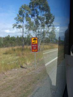 Love Australian road signs!