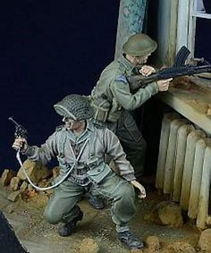 Soldiers Figures 16511: D-Day Miniature 1:35 British Commonwealth Infantry - 2 Resin Figures Kit #35021 -> BUY IT NOW ONLY: $38.45 on eBay!