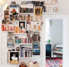 Cutest library by Apartment Therapy