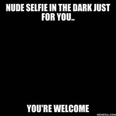 naked selfie
