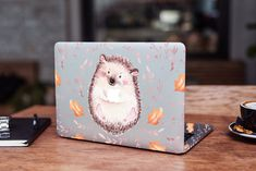Hedgehog Skin for MacBook Pro 16 Autumn Leaves MacBook 16 Skin MacBook Pro 15 Decal Cute MacBook 15 inch Vinyl Skin MacBook 13 inch Skin by DesignerSkinUA on Etsy Macbook 15 Inch, Macbook Air 11, Macbook Skin, Laptop Skin, Stars At Night, Watercolor Print, Plastic Case, Autumn Leaves, Hedgehog