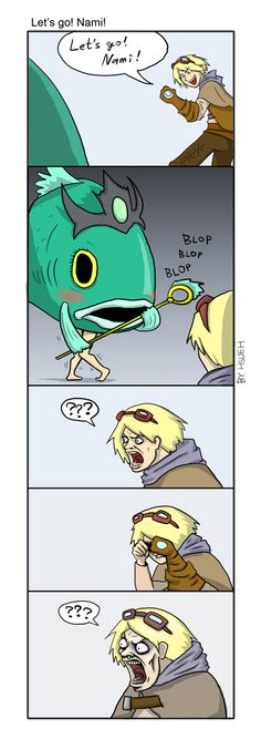 LOL: Let's go! Nami! by phsueh