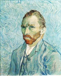 Self Portrait, 1889 by Vincent van Gogh on Curiator, the world's biggest collaborative art collection.
