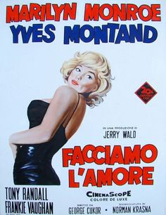 Let's Make Love | Italian Movie Poster, 1960