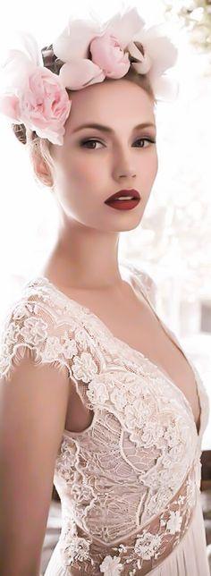 "Lihi Hod Bridal ""Ginger Lily"" wedding dress | House of Beccaria#"
