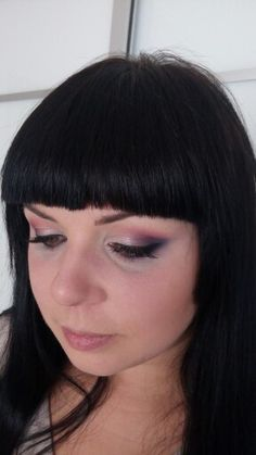 Bright rainbow eye makeup for special occasions
