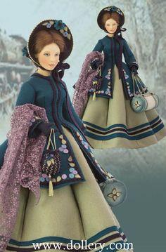 Maggie Iacono Collectible Dolls - Marmee