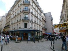 Paris 5e - L'entrée de la rue de la Huchette - Quartier Latin.jpg