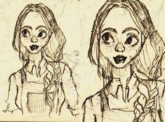 Sketch Drawing, Princess Zelda, Female, Portrait, Drawings, Illustration, Fictional Characters, Art, Art Background