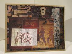 Masculine Happy Birthday, LDL Creations, LLC