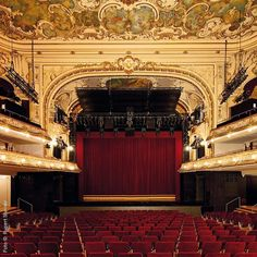 Ronacher: Probably one of the most beautiful stages in the city // Jesus Christ Superstar, History Of Romania, Vampires, Gekkan Shoujo Nozaki Kun, West Side Story, Rocky Horror, Theater, Musical Theatre, Vienna