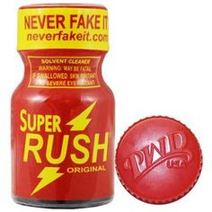 Super Rush Poppers by PWD 10ml (small bottle)