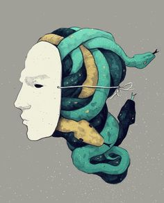 Illustrator and graphic designer Simon Prades (previously here and here) creates illusion and intrigue through old school methods of illustration, choosing to loyally stick to pen and ink as his go-to medium. Despite choosing to clean up and sometimes color his work digitally, Prades' physical mark