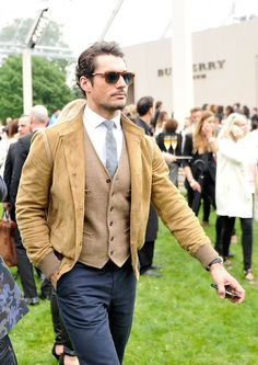 David Gandy - Burberry Menswear After Show Source: Gareth Cattermole/Getty Images Europe #DavidGandy #LCM