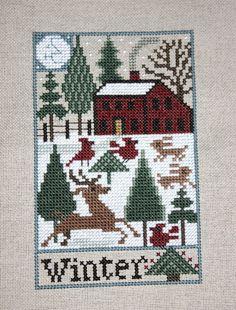 Prairie Schooler - Country Seasons - Winter Sampler